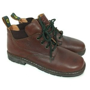 Born BOC Booties 9.5 / 41 Brown Leather Ankle Boot